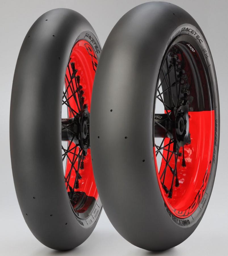 Metzeler Shows Racetec SM K0 Supermoto Tires - autoevolution