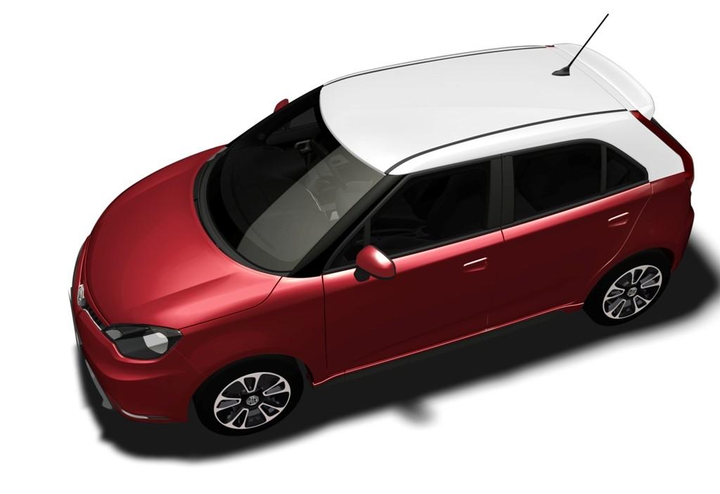 New MG3 3-Door Hatchback - autoevolution