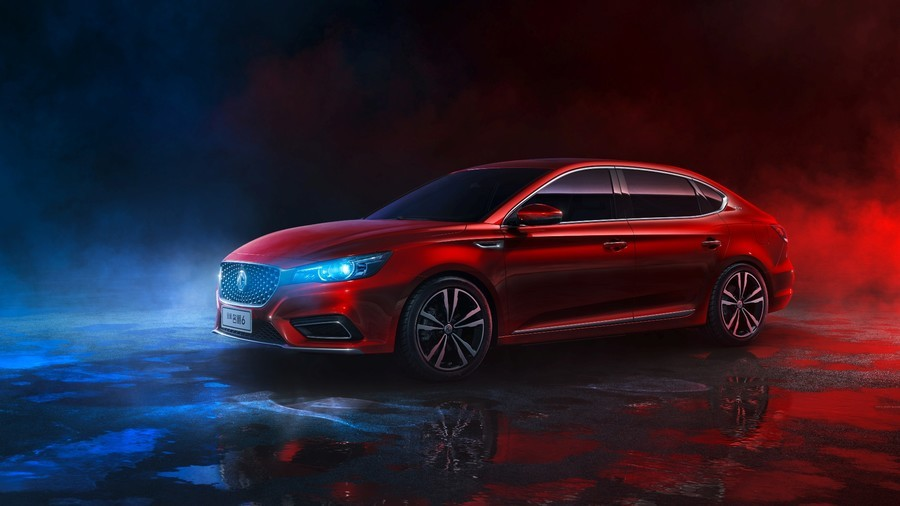 2018 Mg6 Sedan Debuts In China Looks Like Anything But An