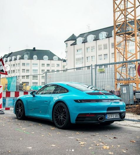 Miami Blue 2020 Porsche 911 Spotted in Germany, Shows Grown