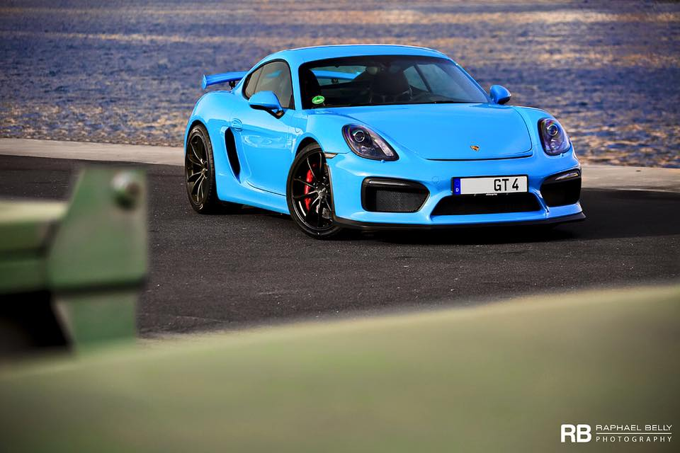 Miami Blue Porsche Cayman GT4 Is Why We Porsche Exclusive ... on gt4 audi r8, gt4 porsche hong kong, gt4 porsche panamera, gt4 porsche carerra, gt4 toyota celica, techart cayman, gt4 porsche boxster,