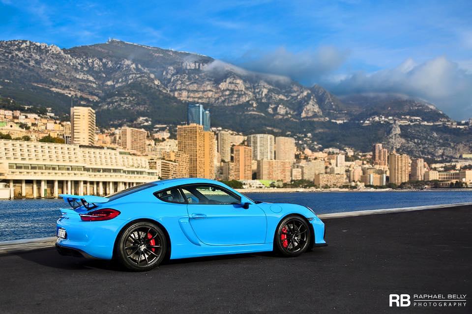 Miami Blue Porsche Cayman GT4 Is Why We Love Porsche ...