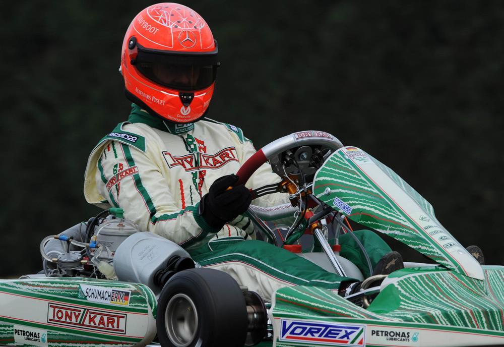 Michael Schumacher Returns To Kart Racing For 2013 First