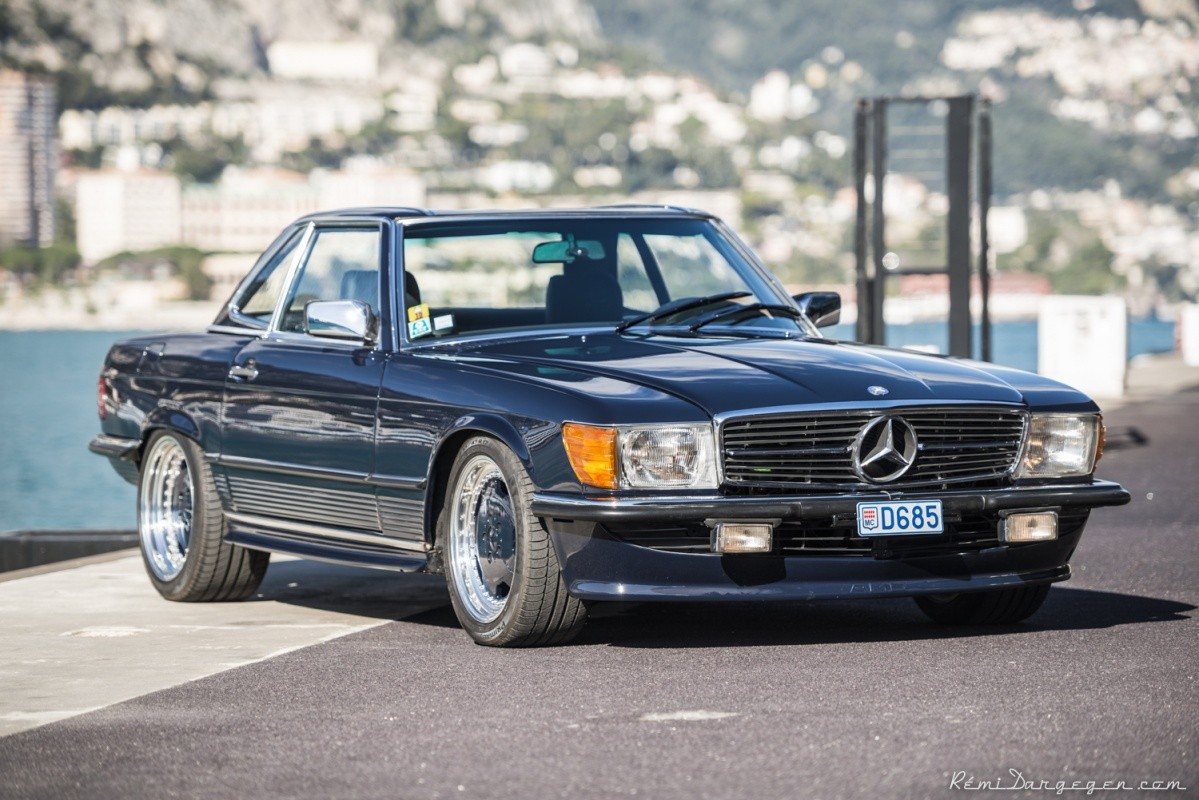 Michael schumacher 39 s amg swapped mercedes benz sl roadster for Mercedes benz sl convertible for sale