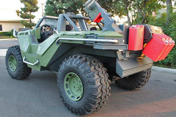 Real Life Halo Vehicles: Microsoft Made Warthog From Halo Game