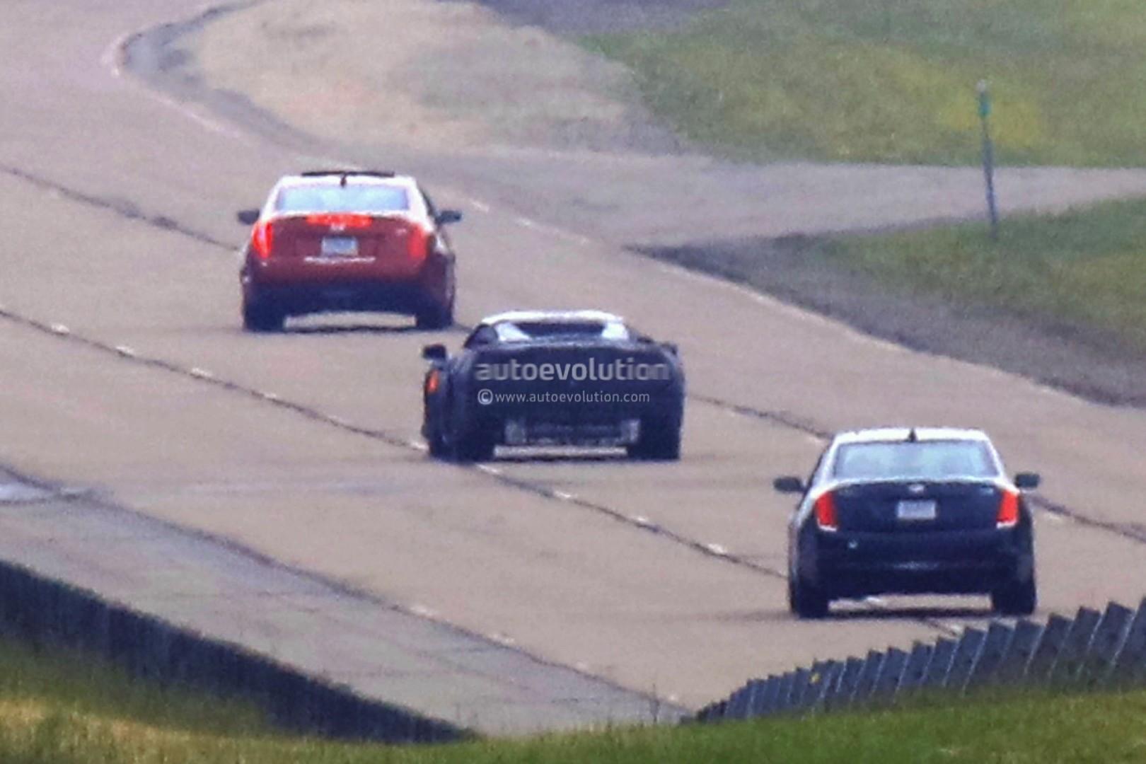 Corvette C8 2019 >> Mid-Engine 2019 Chevrolet Corvette (C8) Spied at GM Milford Proving Ground - autoevolution