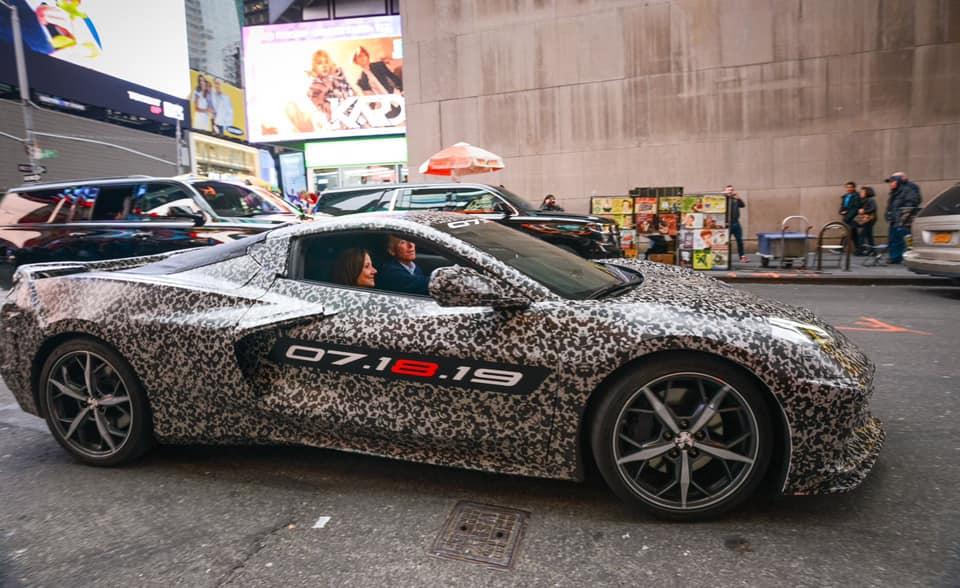 Mid-Engine 2020 Chevrolet Corvette (C8) Teased Ahead Of ...