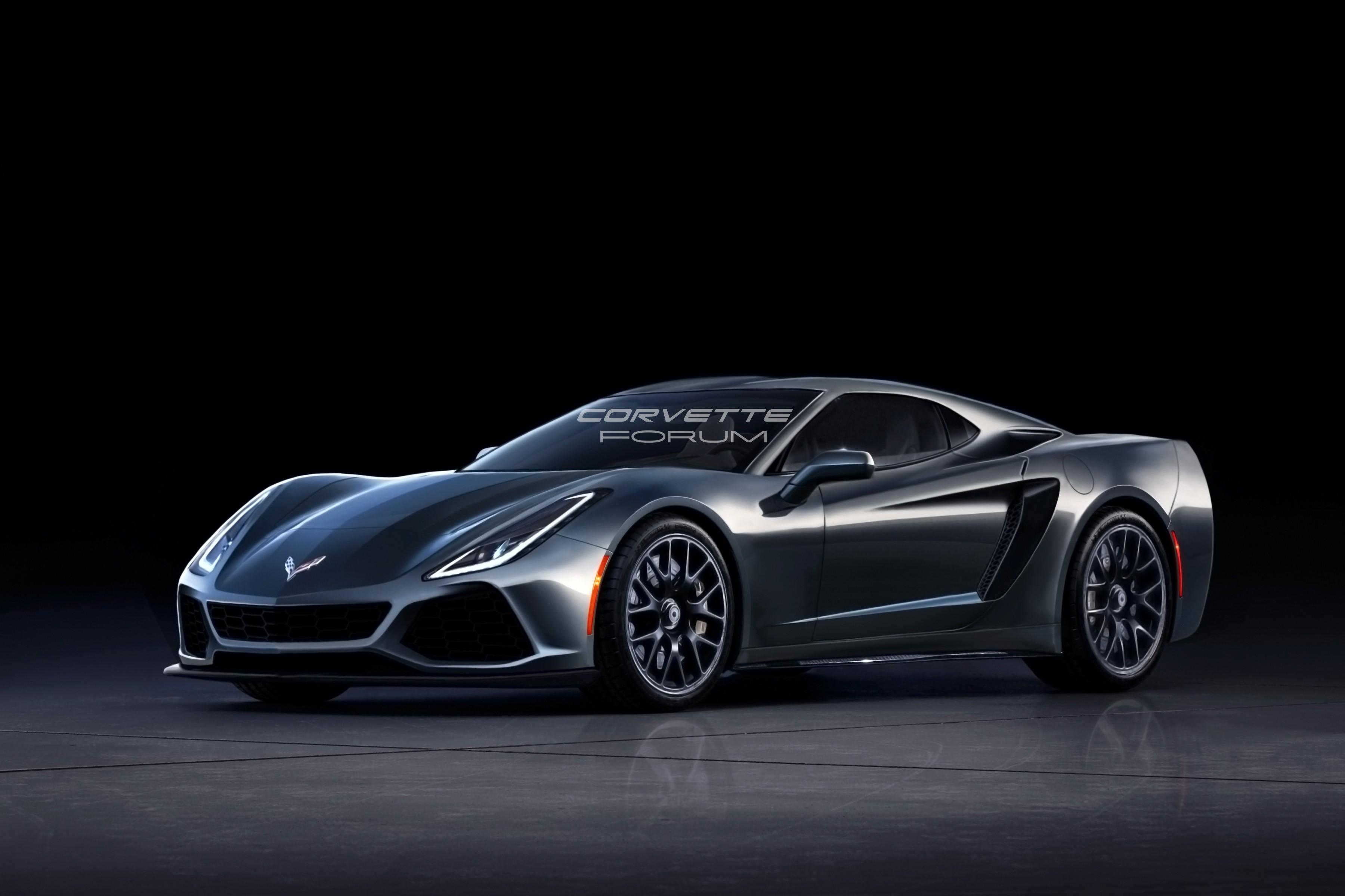 Mid-Engine C8 Corvette Spied Benchmarking Against Porsche ...