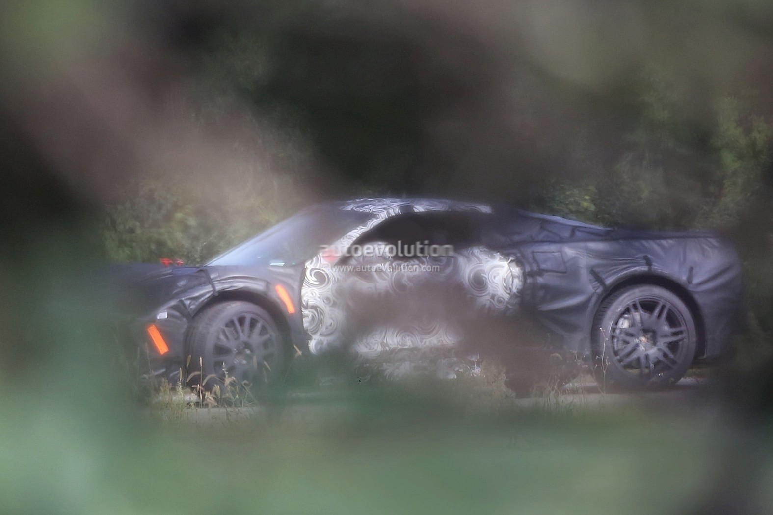 Mid Engine C8 Corvette Spied Benchmarking Against Porsche 911 Turbo