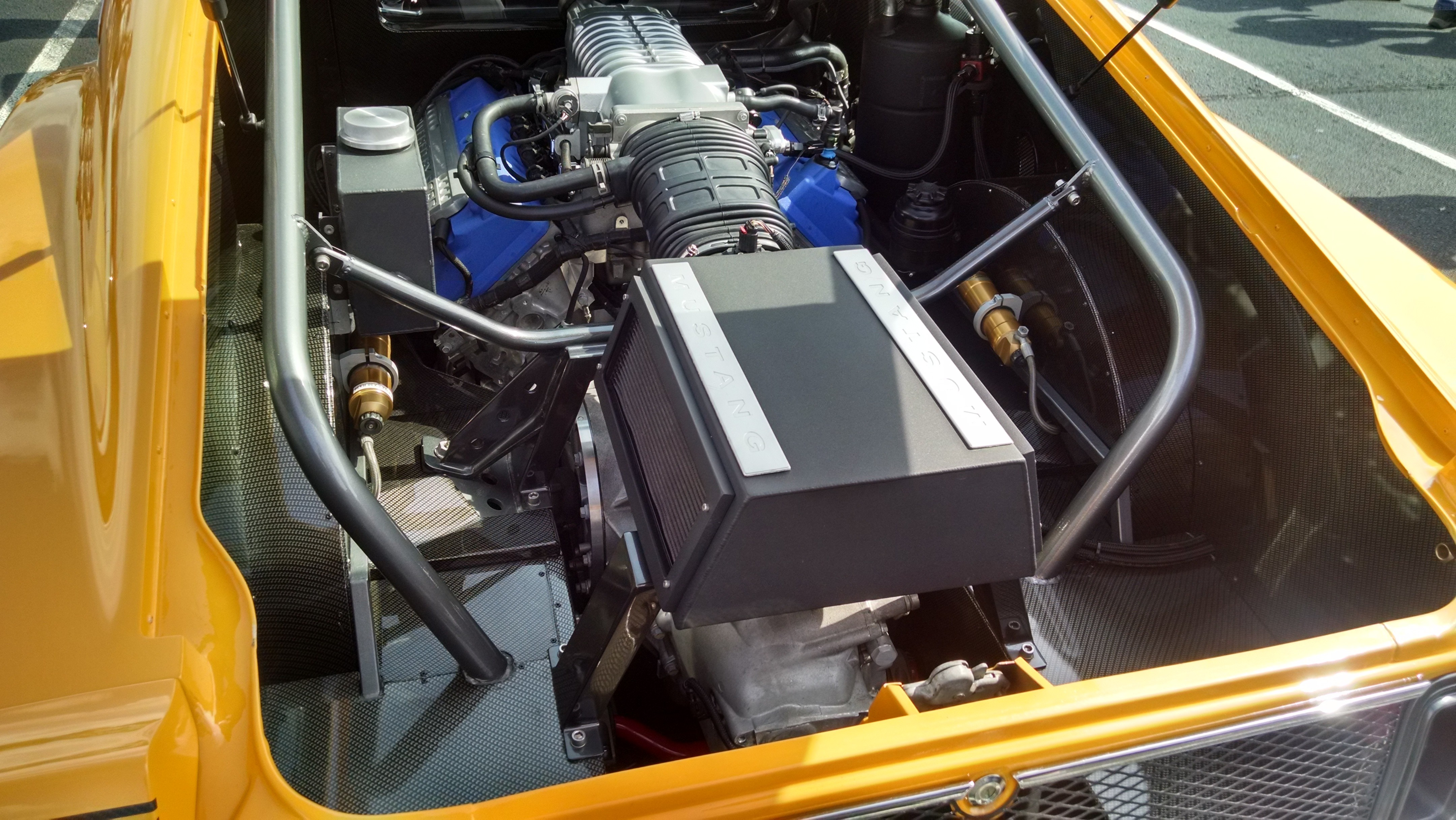 Mid-Engined 1960s Ford Mustang Mach 1 Has Ford GT Engine ...