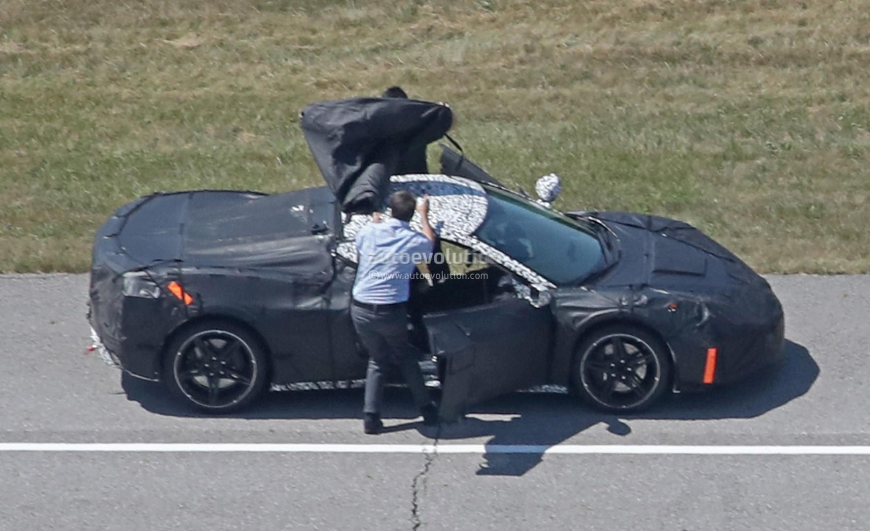 Spyshots: Mid-Engined C8 Chevrolet Corvette Prototype ...
