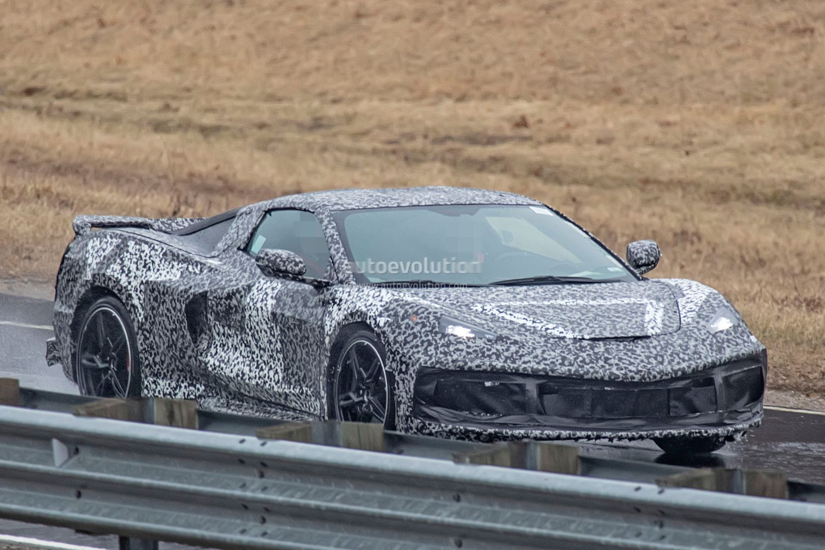 Mid Engined Corvette C8 Prototype Shows Details As Order