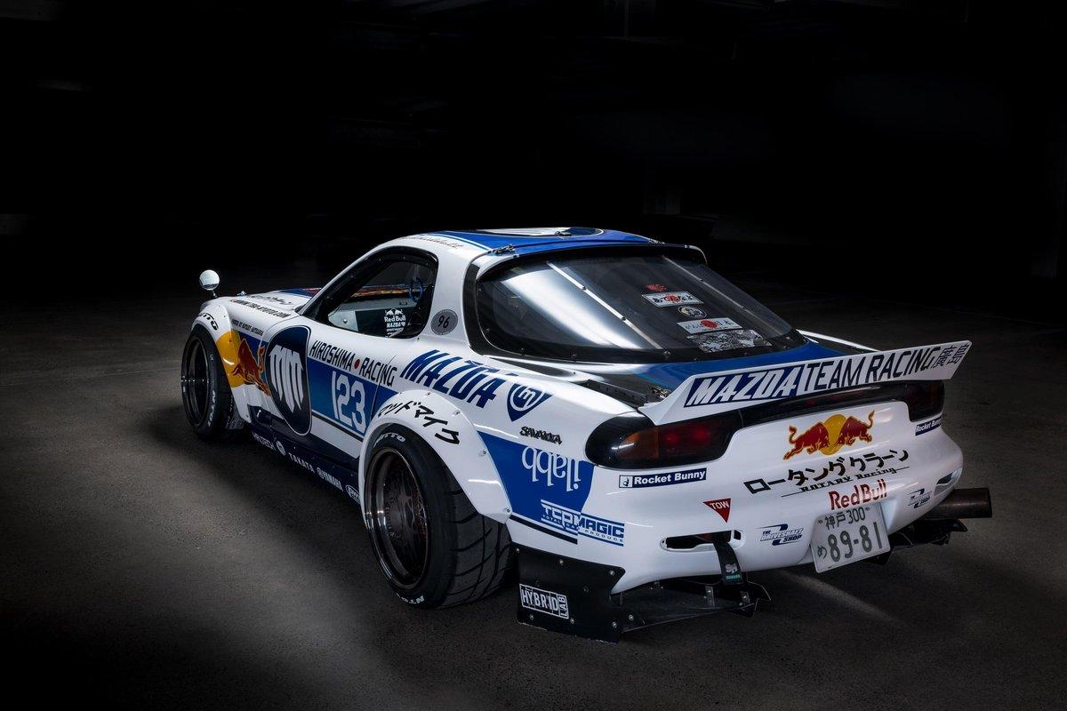 Mike Whiddett Gives His Madbul Mazda Rx