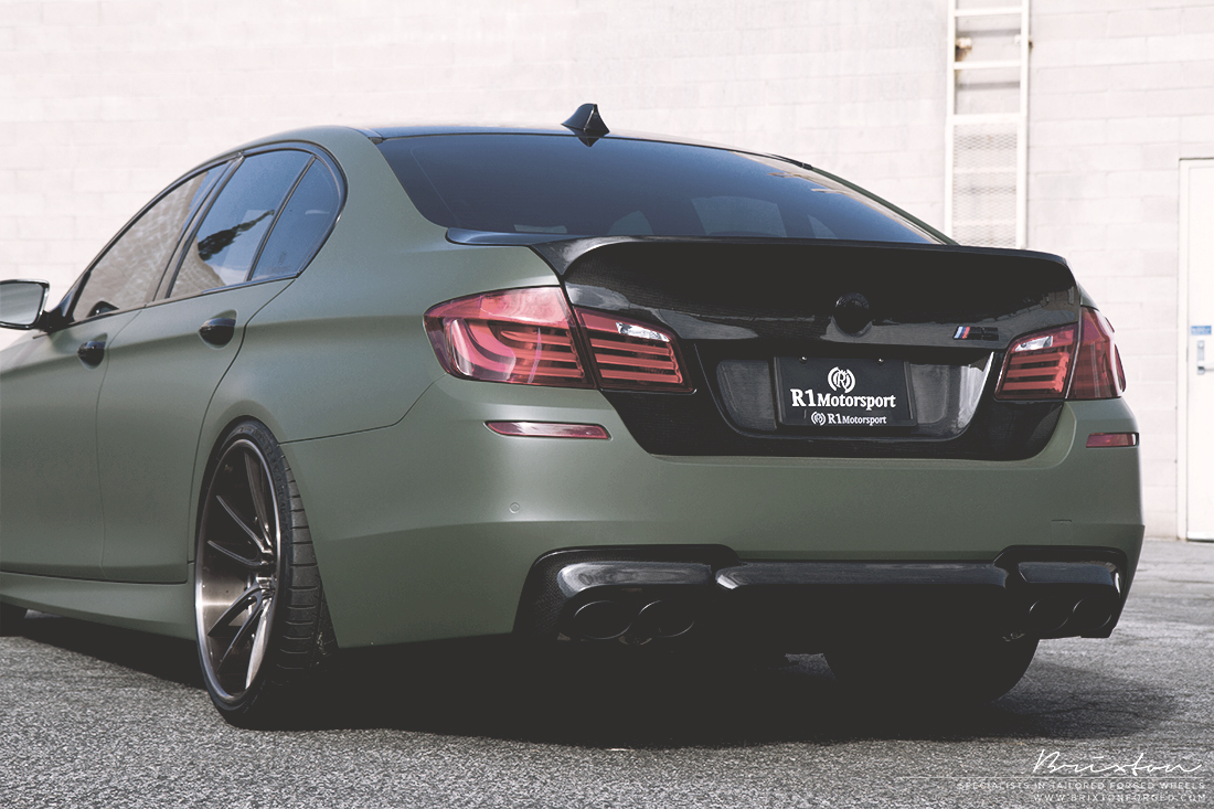 Unique Auto Sales >> Military Grade Performance: Army Green BMW M5 - autoevolution