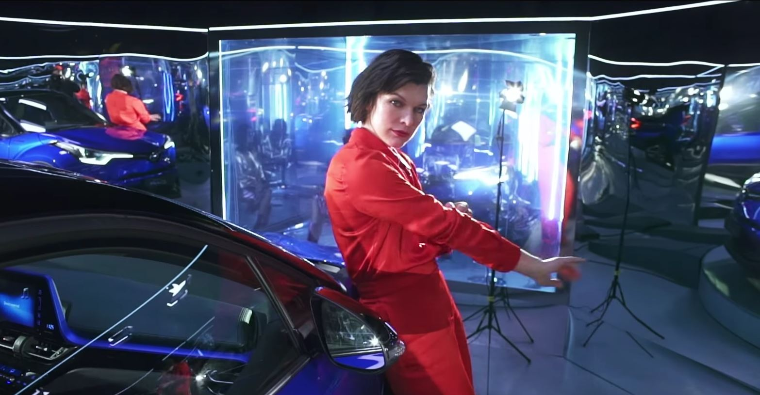 Milla Jovovich Stars In Toyota C Hr European Commercials
