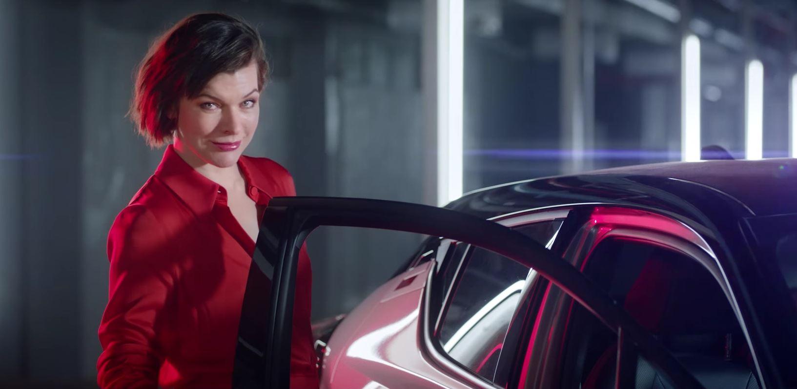 milla jovovich stars in toyota c hr european commercials