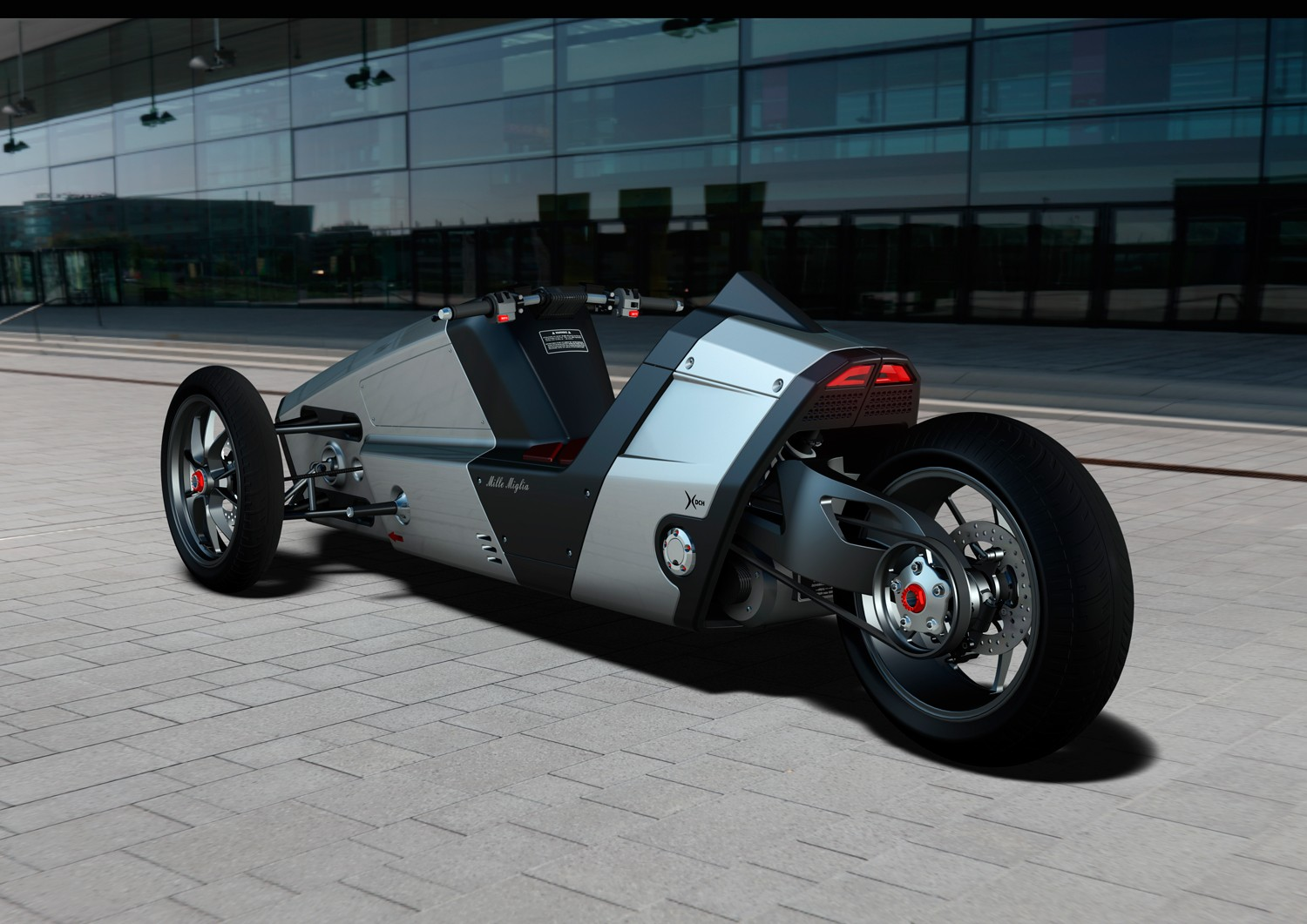 Sabertooth Trikes to Sport Rear-Wheel Steering - autoevolution