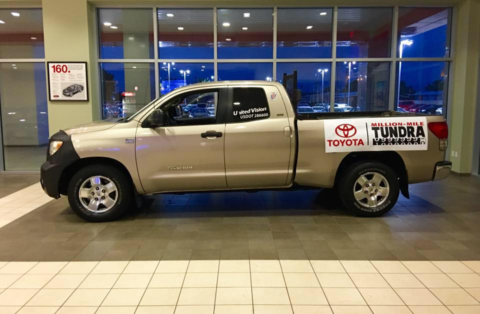 This Toyota Tundra Pickup Truck Racked Up 1 Million Miles ...
