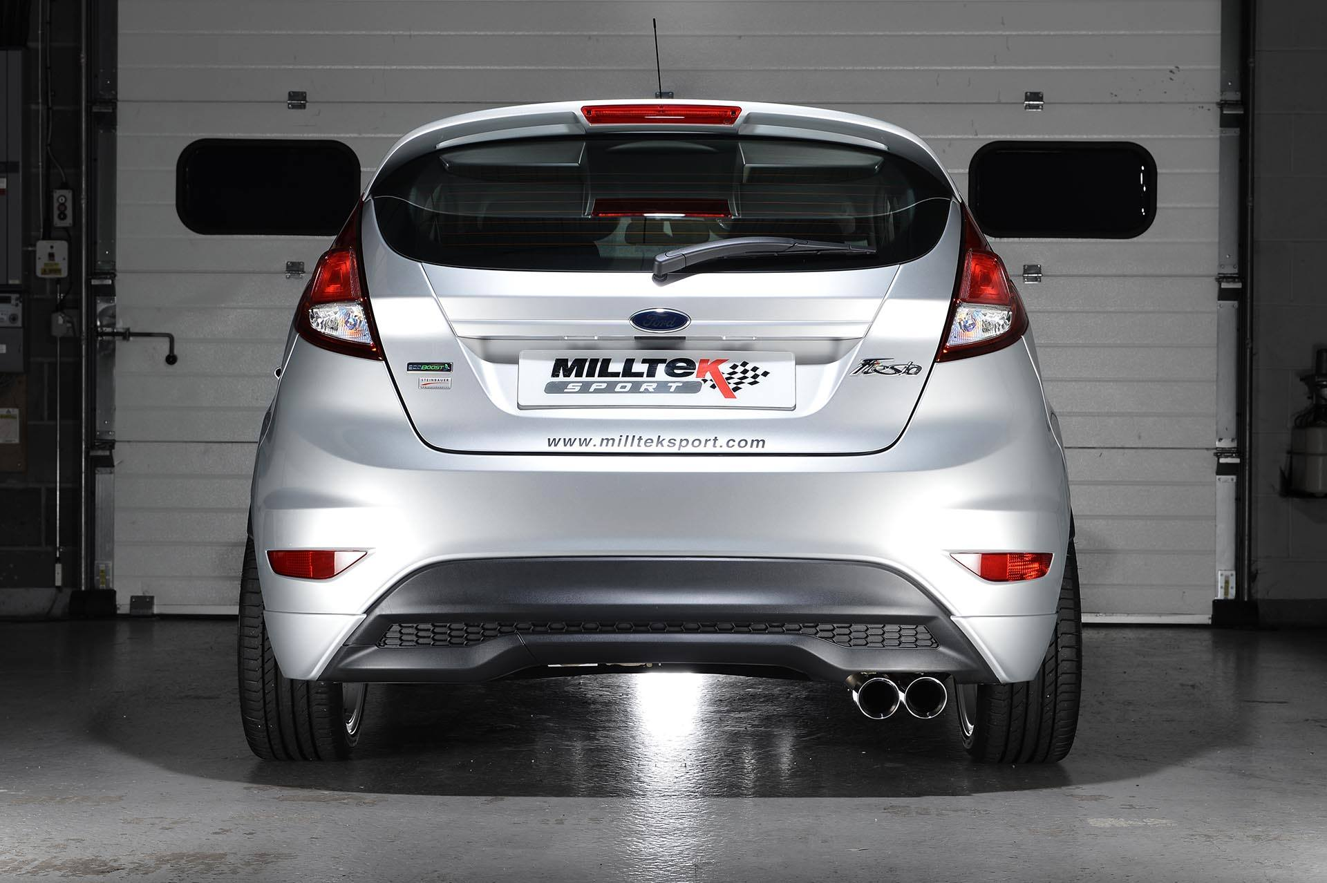 Ford Escape 2014 Custom >> Milltek Announces Sports Exhaust for Ford Fiesta 1.0 EcoBoost - autoevolution