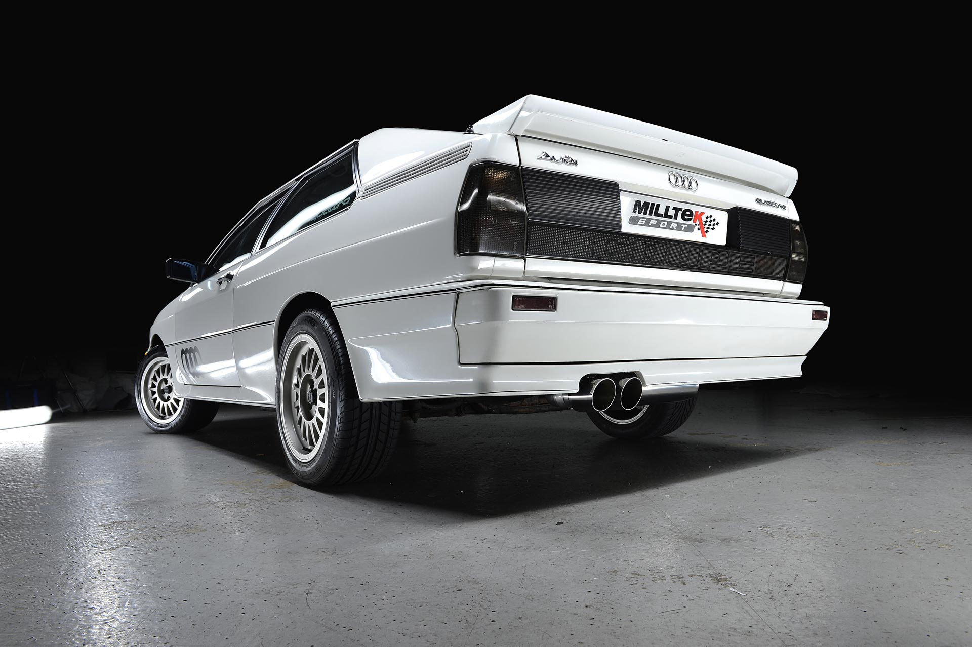 Milltek Classic Custom Exhaust For Audi Ur Quattro