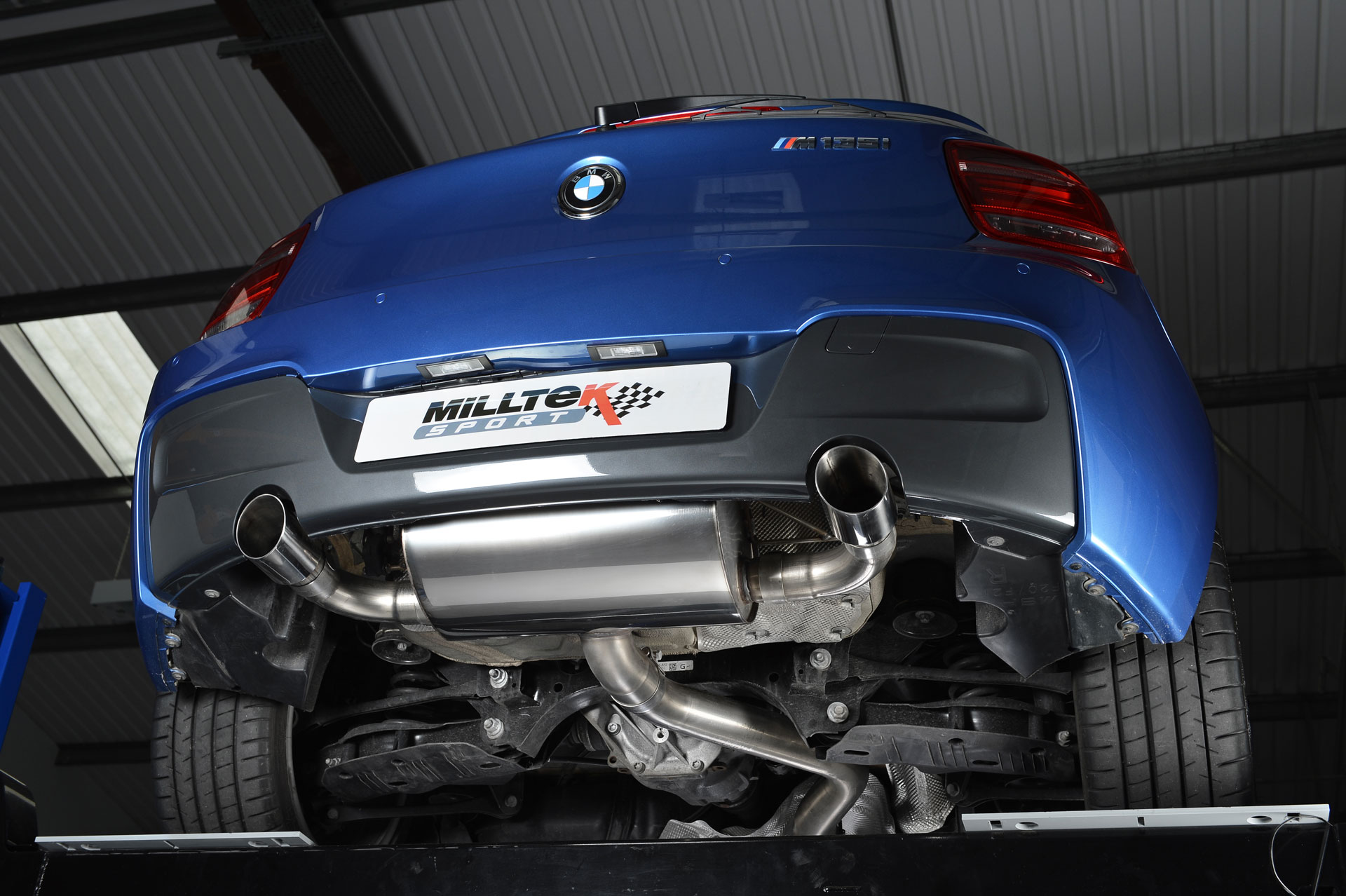 Milltek Performance Exhaust For Bmw M135i Brings Massive