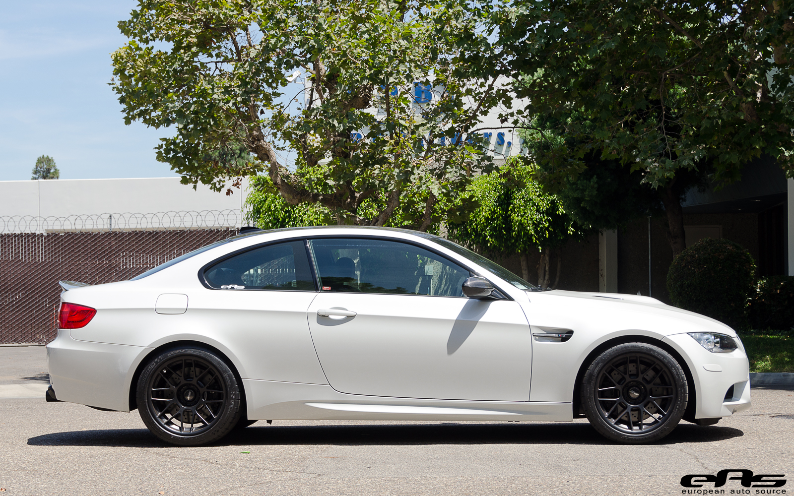 Mineral White Bmw M3 Gets A Complete Make Over At Eas