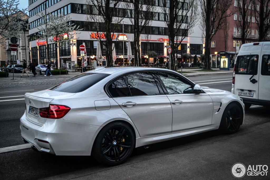 Mineral White Eye Candy Bmw F80 M3 Autoevolution