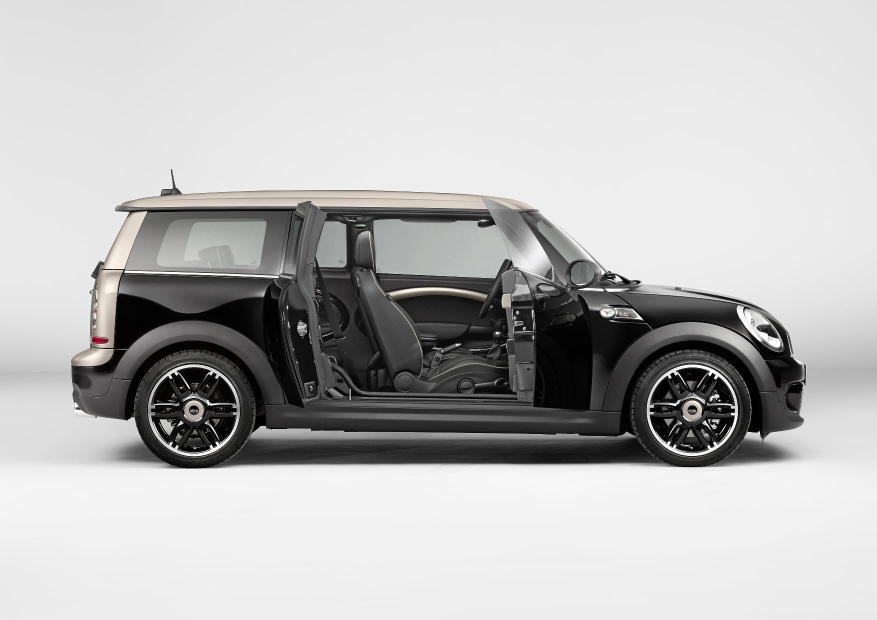 mini clubman bond street special edition autoevolution. Black Bedroom Furniture Sets. Home Design Ideas