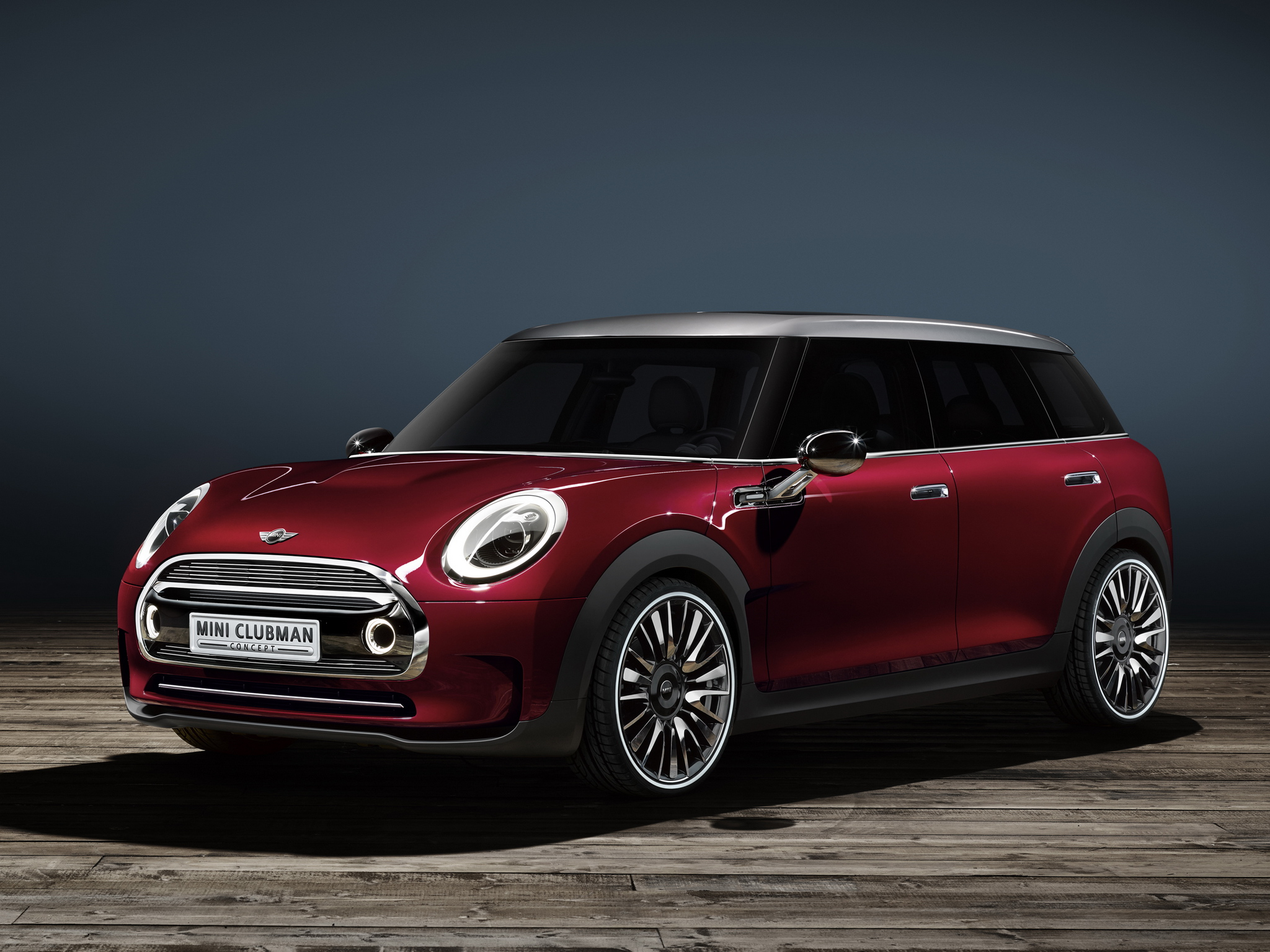 mini clubman concept takes shape with first official photos and videos autoevolution. Black Bedroom Furniture Sets. Home Design Ideas