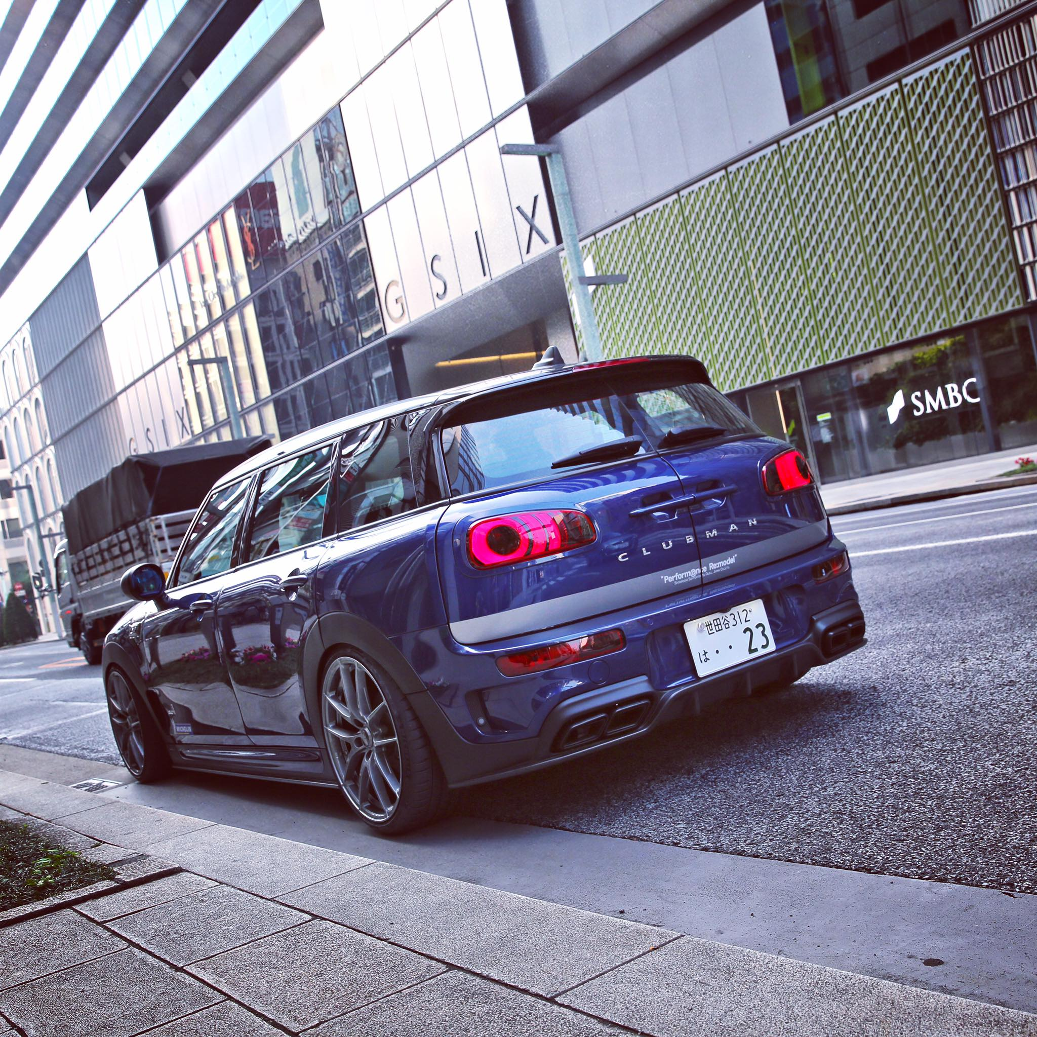 Mini Clubman Gets Amg Exhaust And Body Kit In Japanese Tuning