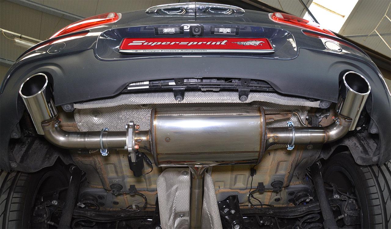 Mini Clubman Gets Supersprint Exhaust Reveals Strange Underside