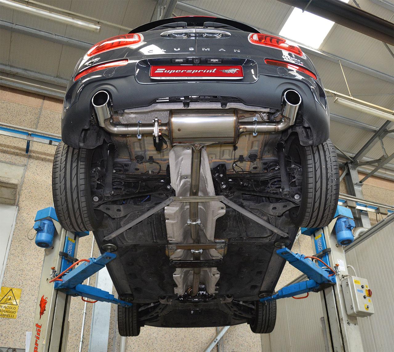 Mini Clubman Gets Supersprint Exhaust Reveals Strange