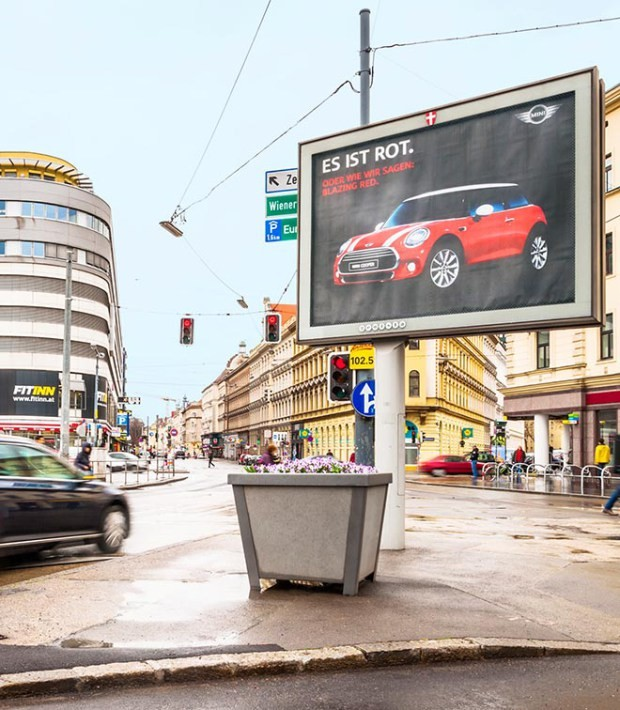 Outside Lights Nuisance: MINI Comes Up With Possibly The First Outdoor Billboard