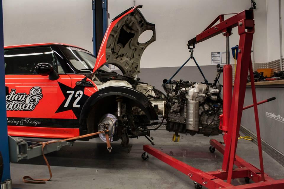 mini cooper jcw racing project gets 2 0 tfsi and dsg autoevolution