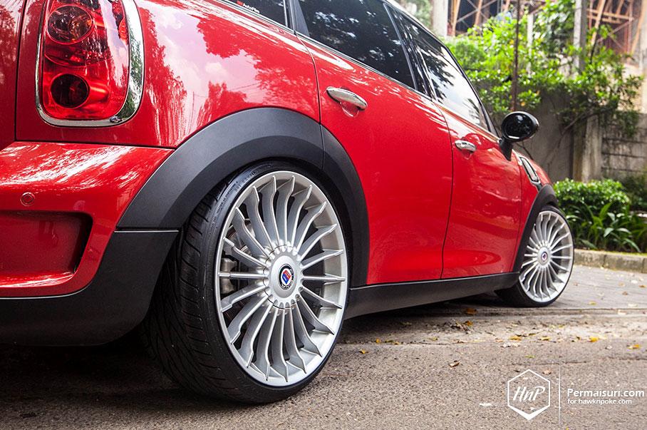BMW Mini Cooper >> MINI Countryman Jumps on Alpina Wheels in Indonesia ...