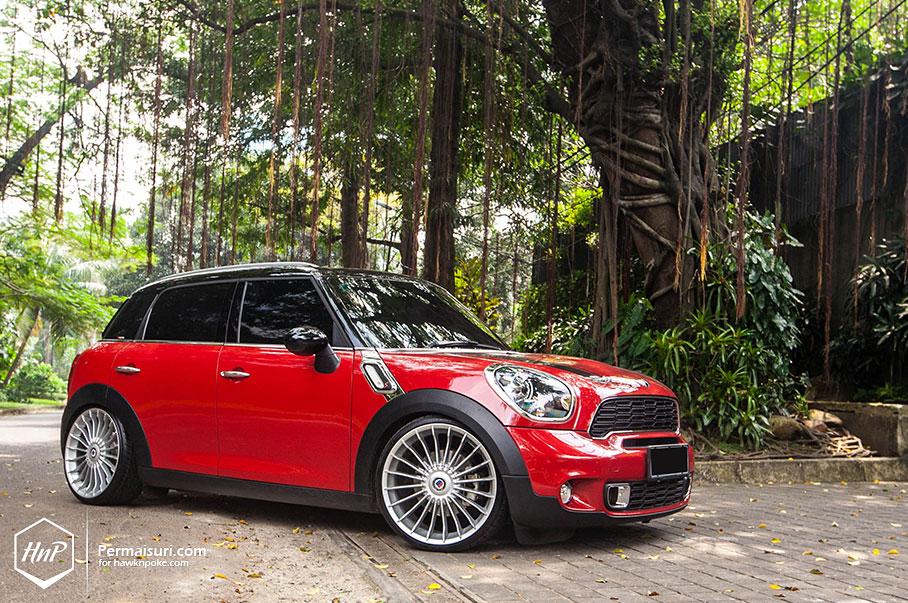 Mini Cooper Tires >> MINI Countryman Jumps on Alpina Wheels in Indonesia - autoevolution