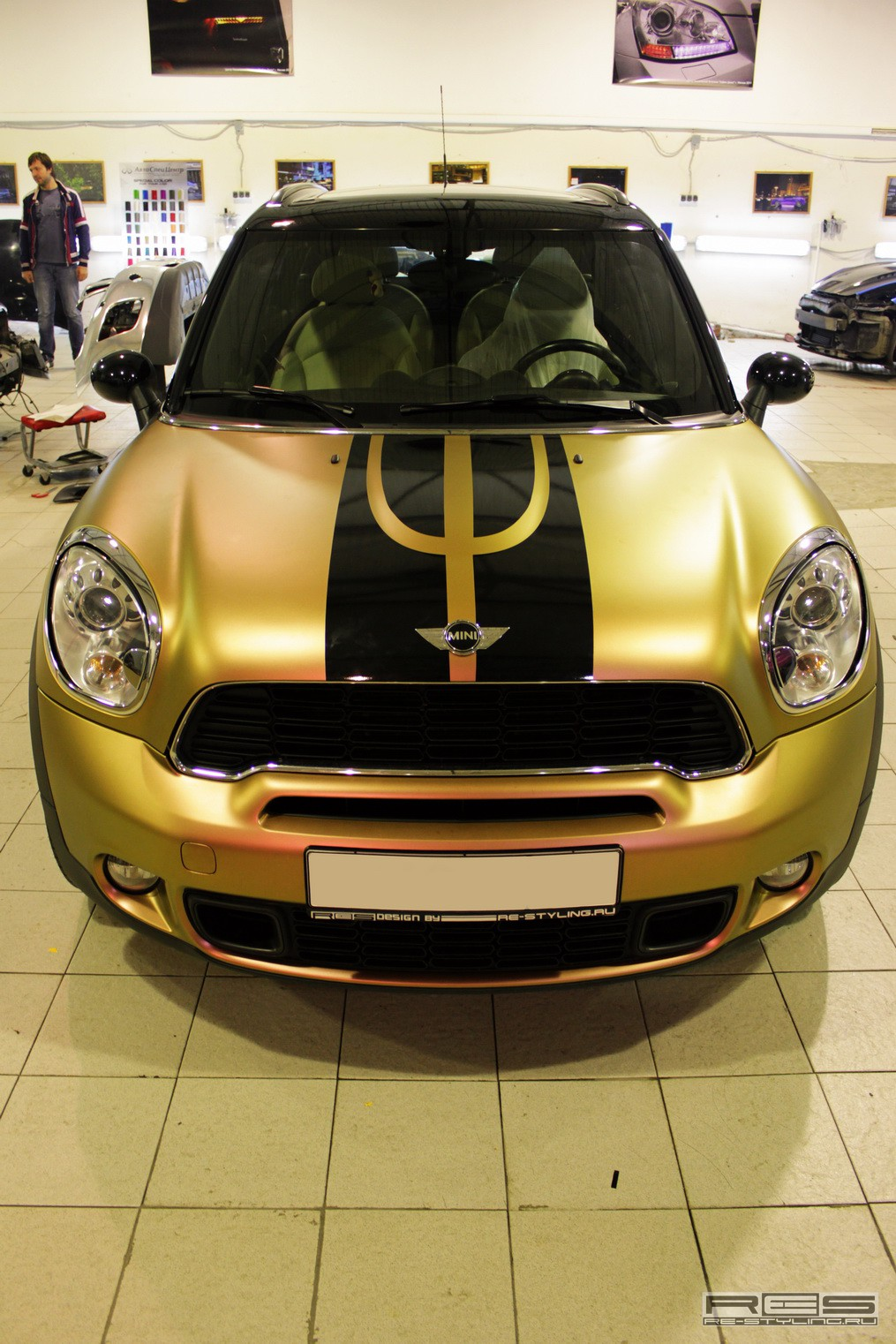 MINI Countryman Wrap: Copper Chameleon