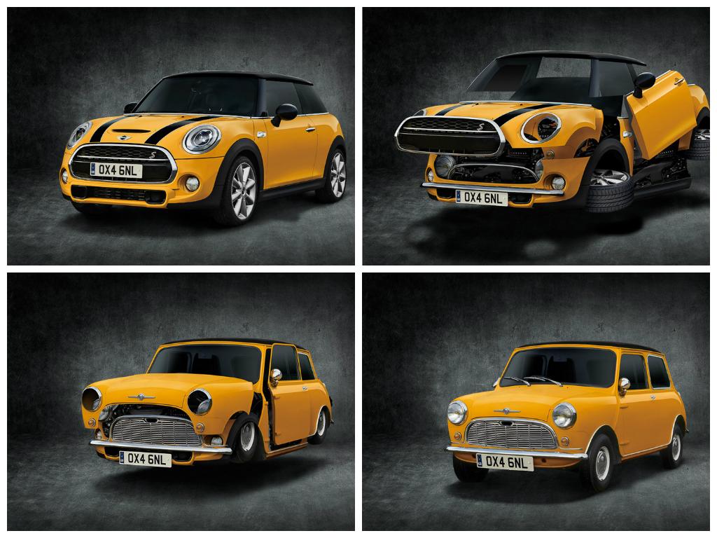 Mini Japan Presents The Classic Mini Button Autoevolution