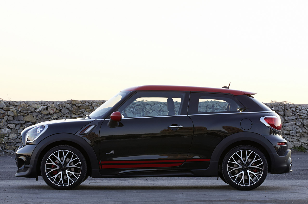 mini jcw paceman all4 first drive by autoblog autoevolution. Black Bedroom Furniture Sets. Home Design Ideas