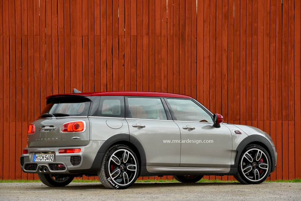 Mini John Cooper Works Clubman Rendered Proves Jcw Name Is Just A