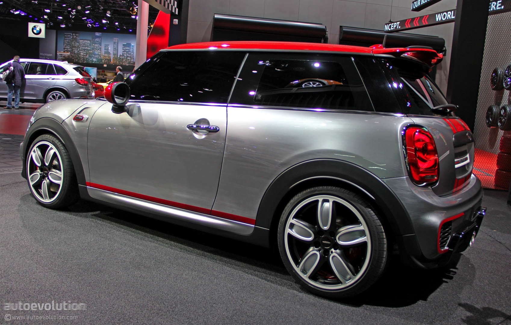 Used Car Engines >> MINI John Cooper Works Concept Shows Up at Detroit [Live Photos] - autoevolution