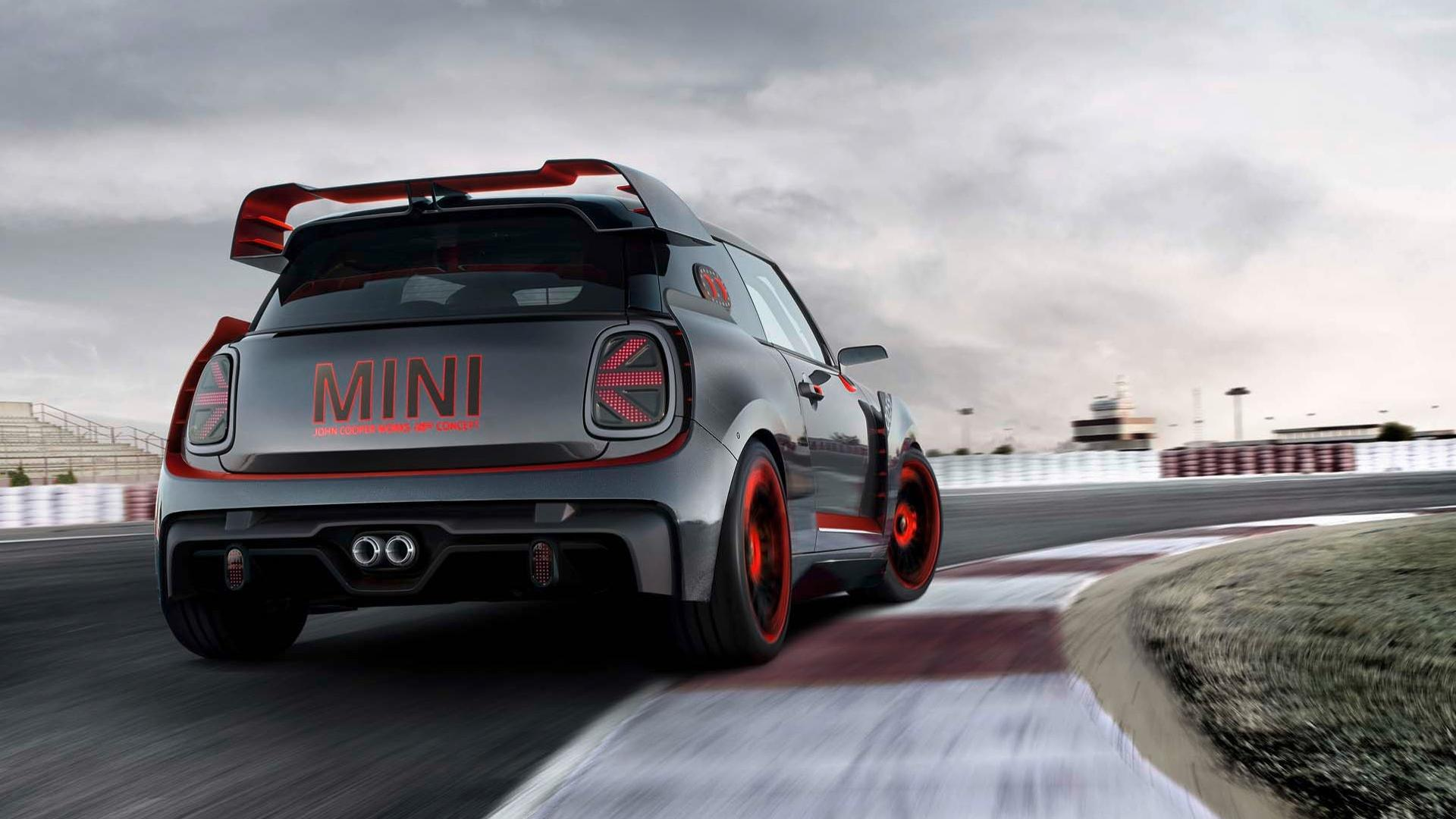 Mini John Cooper Works Gp Concept Is All About On Track Performance