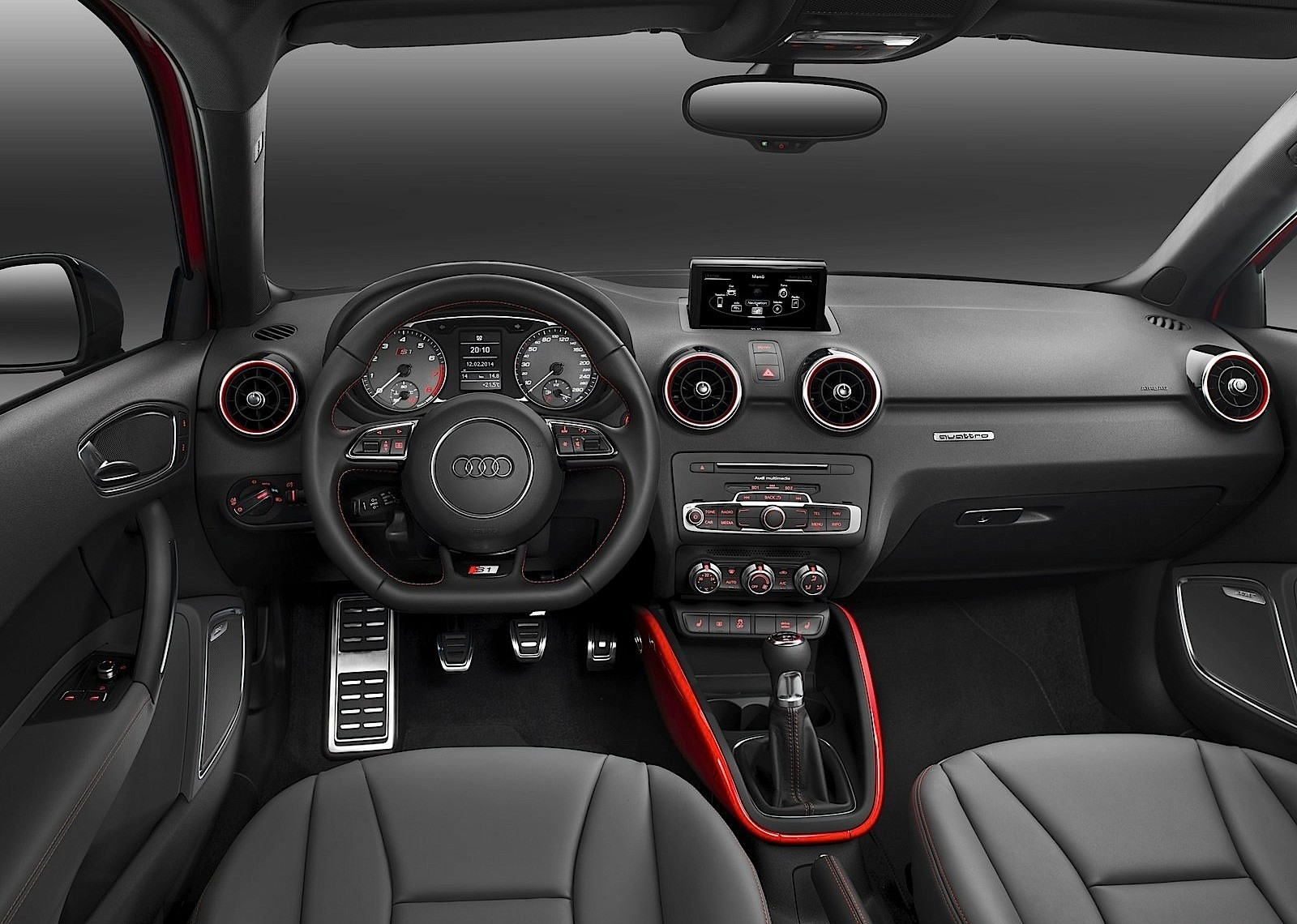 mini john cooper works hardtop versus audi s1 photo. Black Bedroom Furniture Sets. Home Design Ideas