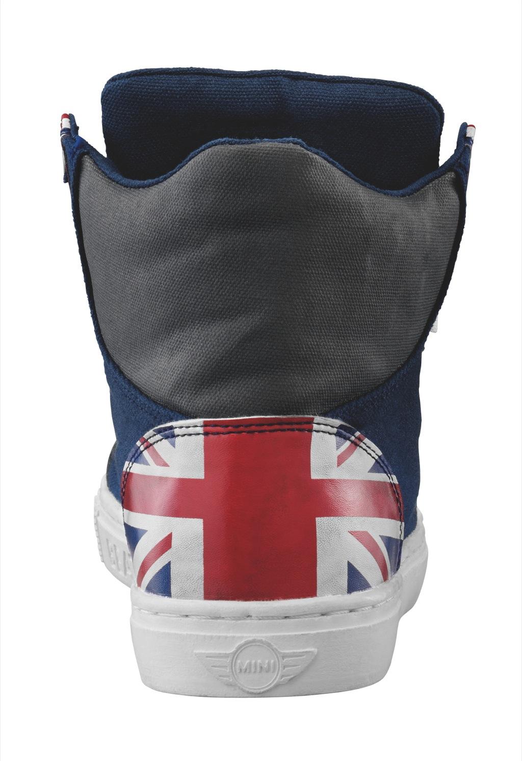 mini launches union jack sneakers autoevolution. Black Bedroom Furniture Sets. Home Design Ideas