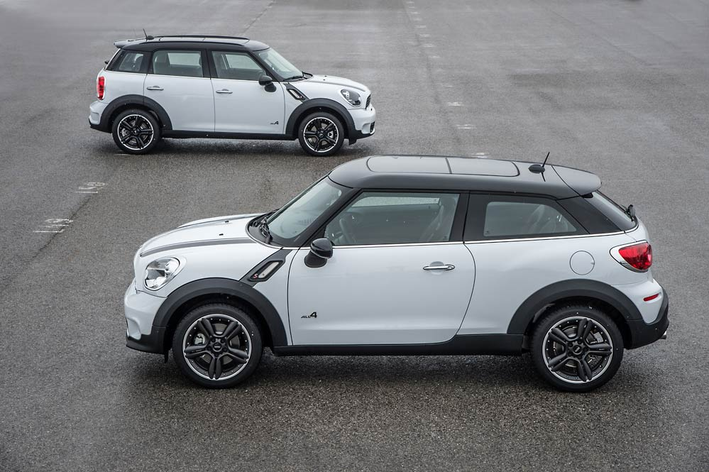 mini paceman and countryman reviewed by skiddmark autoevolution. Black Bedroom Furniture Sets. Home Design Ideas