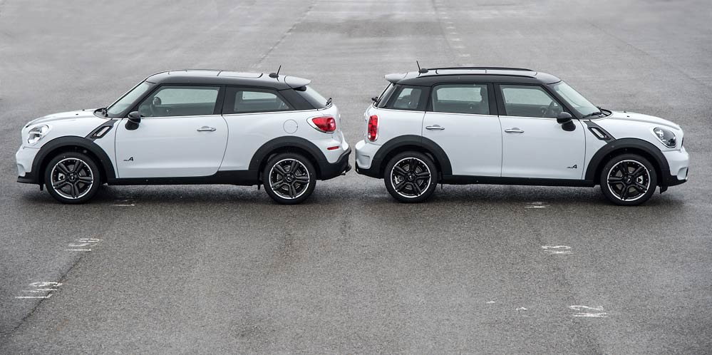 Mini Paceman And Countryman Reviewed By Skiddmark