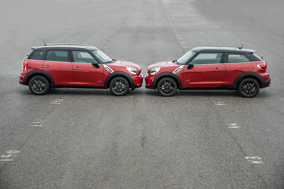 MINI Paceman and Countryman Reviewed by Skiddmark ...