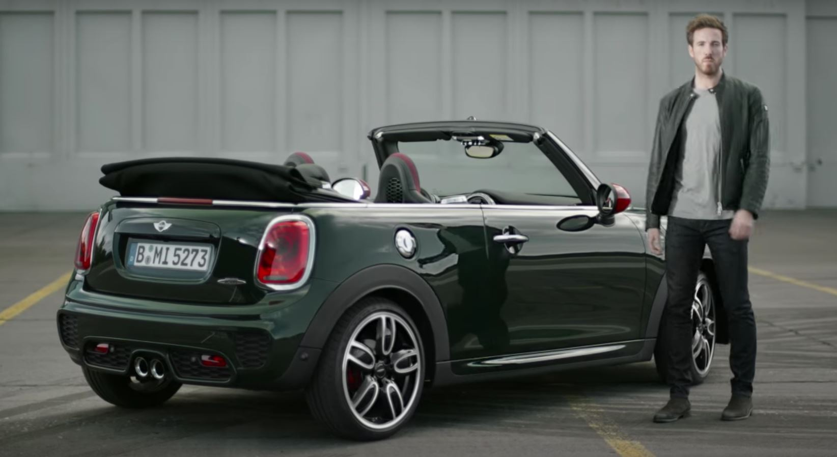 Mini Jcw Convertible Handbrake Turns Its Way Into Your Heart