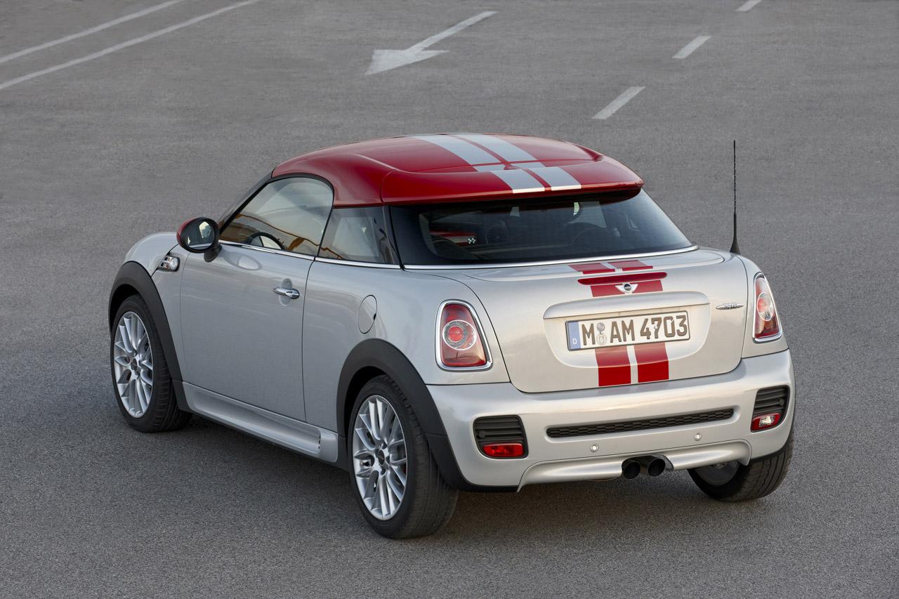 Mini reveals sporty 2012 cooper coupe image gallery - Mini cooper coupe occasion ...