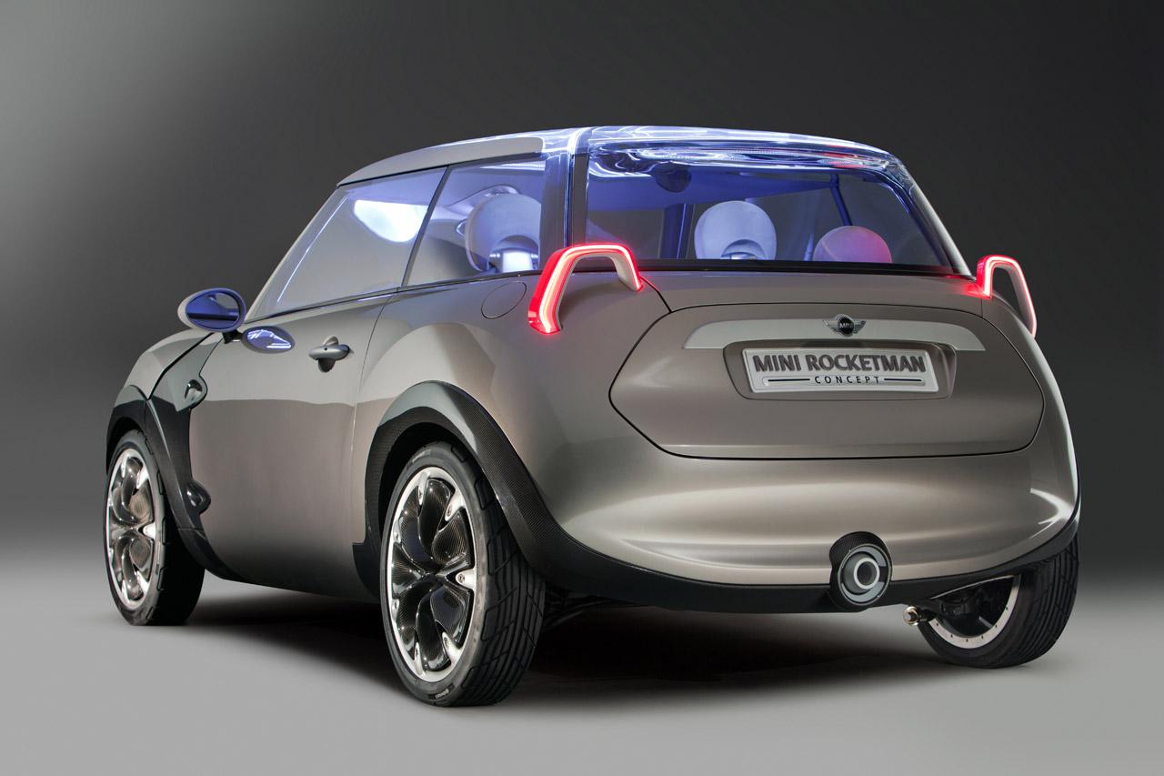 Mini Cooper Models >> MINI Rocketman Concept Unveiled Ahead of Geneva Debut ...
